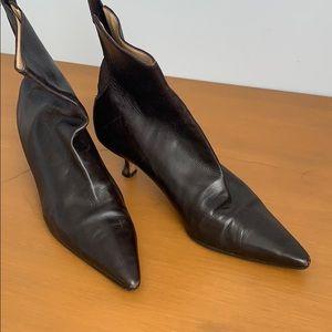 Manolo Blahnik Brown Ankle Boot